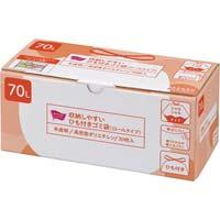 ひも付きゴミ袋 (ロールタイプ)70L