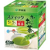 おーいお茶抹茶入りさらさら緑茶スティック 32本