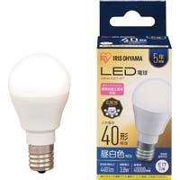 LED電球 E17 広配光 40形相当 昼白色