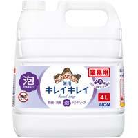キレイキレイ薬用泡ハンドソープ フローラルソープ 詰替4L