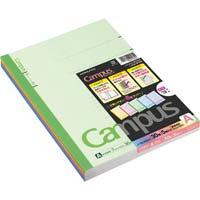 キャンパスノート カラー表示 セミB5 A罫7mm 30枚 5冊パック ノ-3CANX5