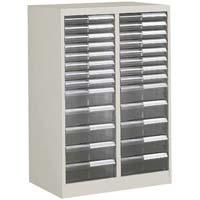 書類整理庫 A4サイズ2列 浅型8段 深型5段(組立てサービス付き家具)