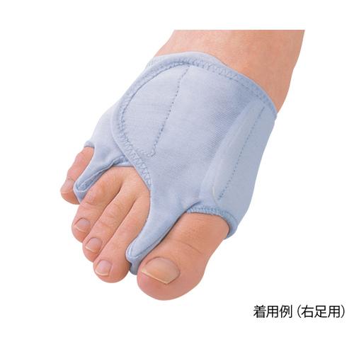 アズワン 外反母趾・内反小趾サポーター固定薄型 右足用M|カウネット