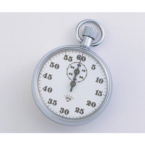 アズワン ストップウォッチ 566(手巻き式) 60分計|カウネット