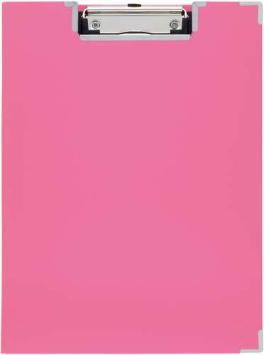 キングジム クリップボードBF カバー付 ピンク 10冊入 309BF