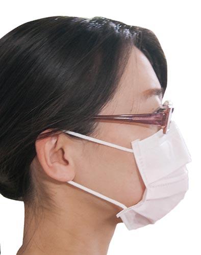 アズマ工業 tk 女性の為のメガネくもりにくいマスク30枚カウネット